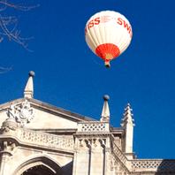 Volar en globo en Toledo