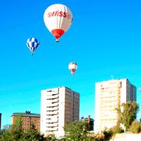 vuelo en globo en Valladolid