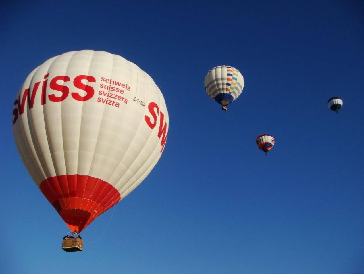 Los globos son aeronaves matriculadas y reguladas por AESA.