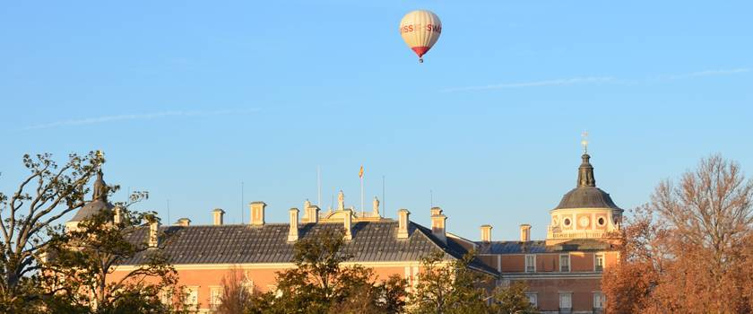 Viajes en globo en Aranjuez