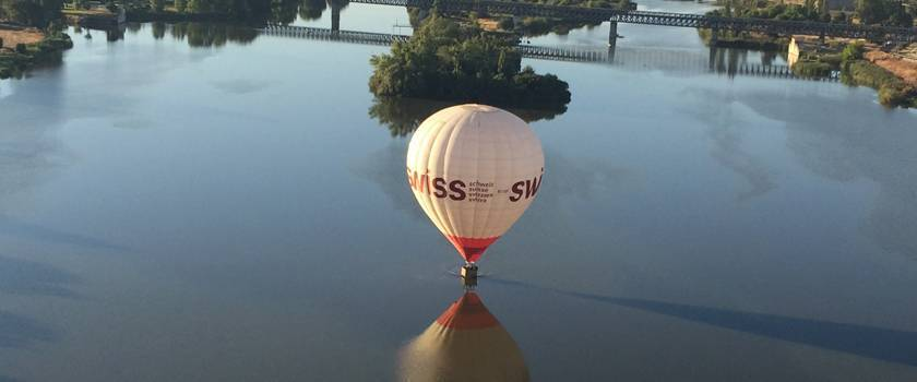rutas para volar en globo