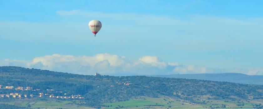 Volar en globo en Madrid