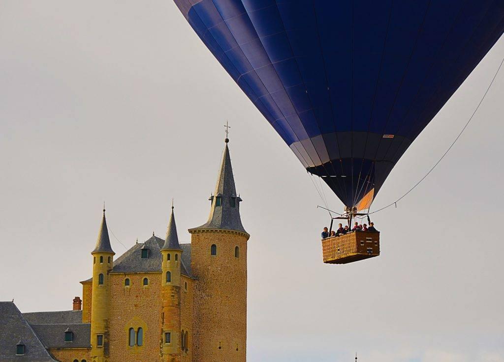 Segovia en globo