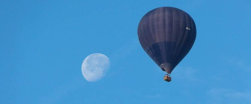 programación de vuelos en globo