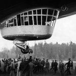 Detalle del dirigible Hindenburg