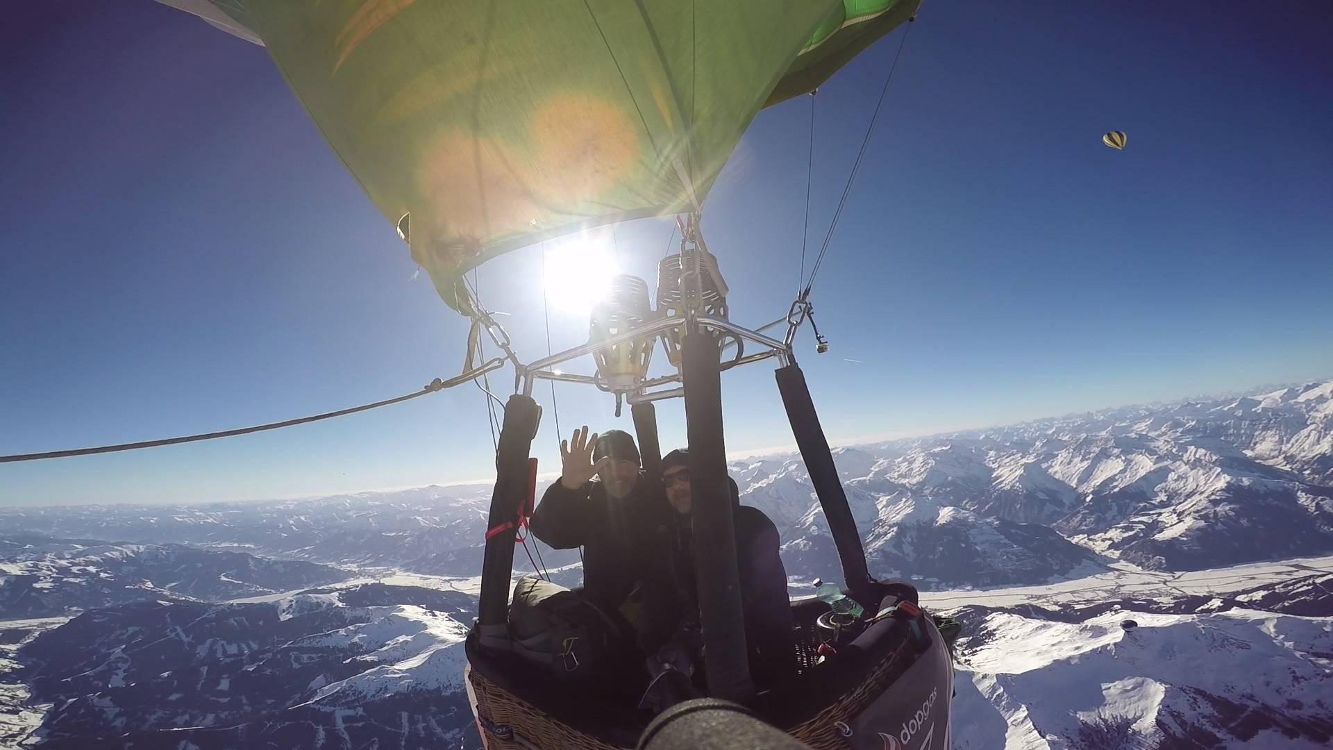 vuelos en globo de travesía