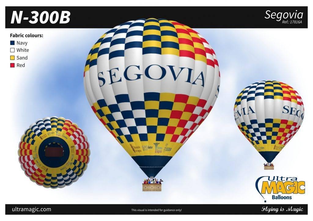 Diseño globo aerostático publicitario