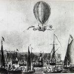 Pregunta del domingo: ¿Quienes fueron los primeros en cruzar el Canal de la Mancha en globo?