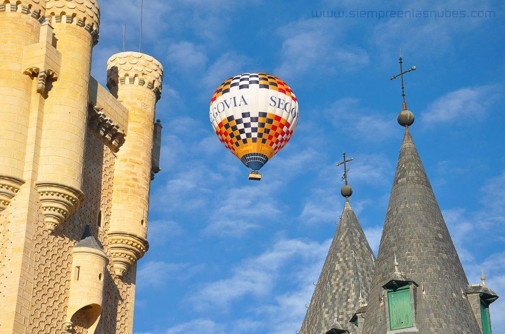 Viaje en globo Segovia