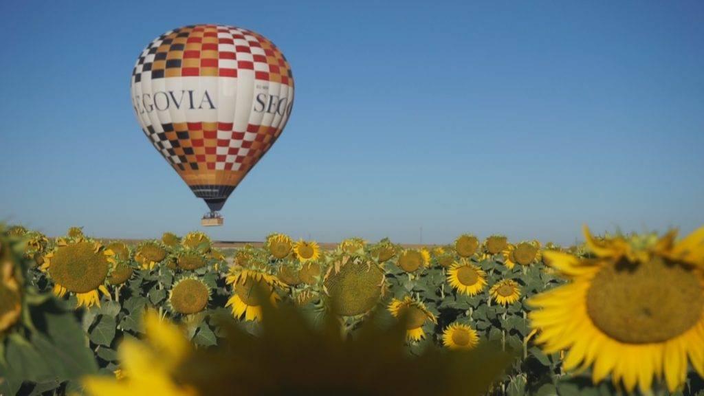 Viaje en globo Segovia 05-08-2017