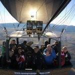 Vuelo en globo Segovia 16-11-2017