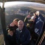 Paseo en globo Segovia 18-11-2017