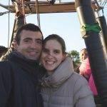 Ruta en globo Segovia 12-11-2017