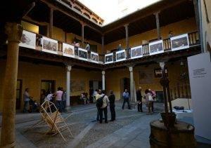 Festival de globos de Segovia exposición de fotografia
