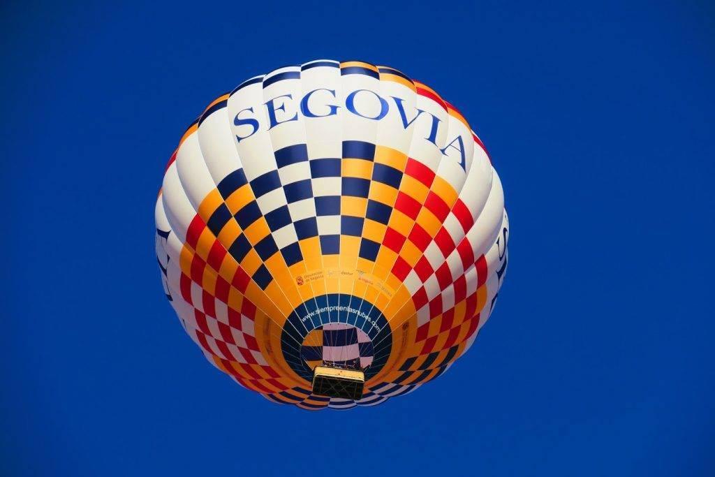 Patrocinadores del festival de Globos de Segovia