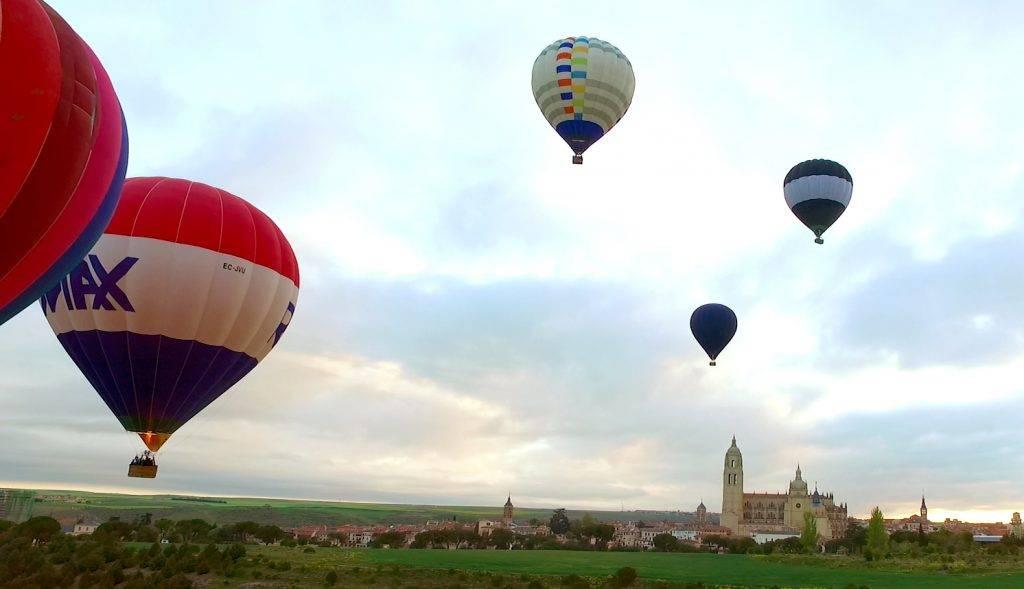 A los globos de pasajeros, ya habituales en Segovia, se sumarán 15 equipos procedentes de toda España.