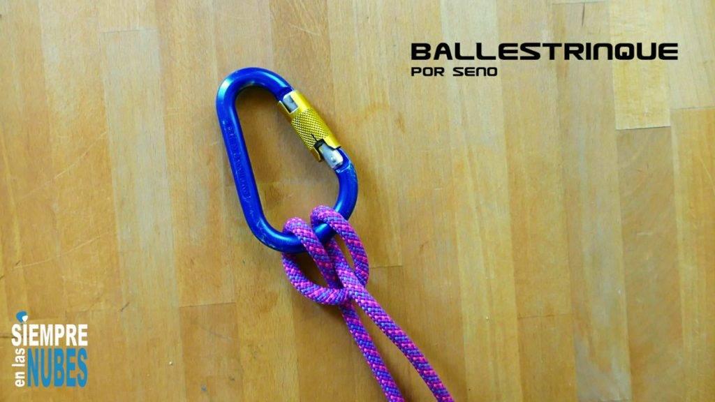 Cómo hacer nudos: Ballestrinque