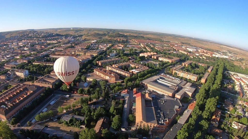 Experiencia en globo en Aranjuez 20-6-20