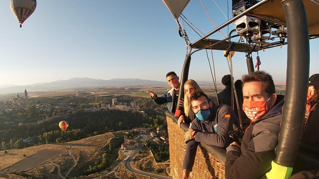 Vuelo en globo Segovia 10/10/20_MAR