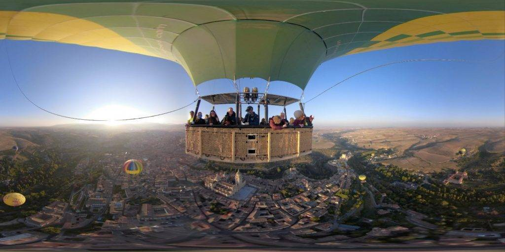 Vuelo en globo 360º
