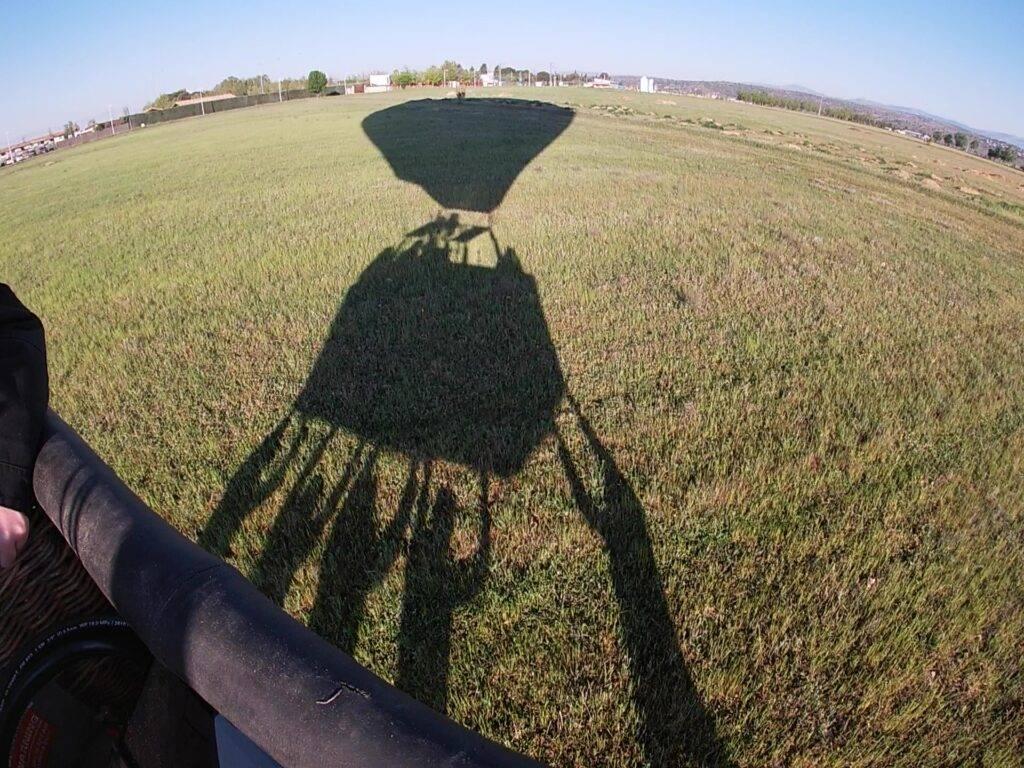 Volar en globo en Madrid 18-4-21