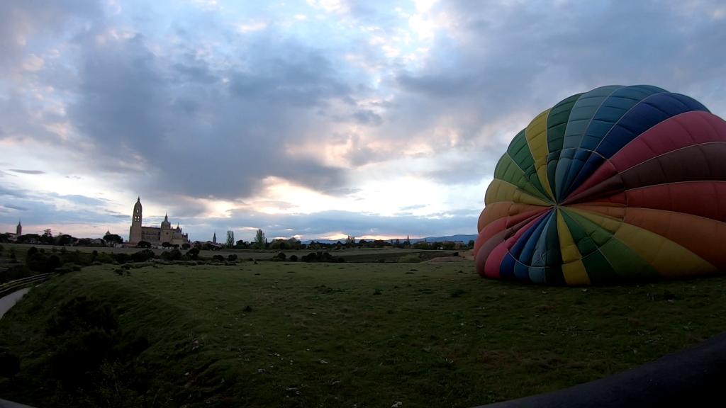 Viaje en globo Segovia 2-5-21