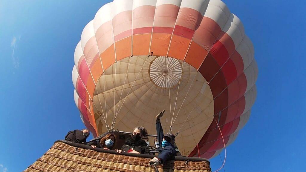 Volar en globo en Madrid 2-5-21