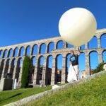 En globo hasta el espacio
