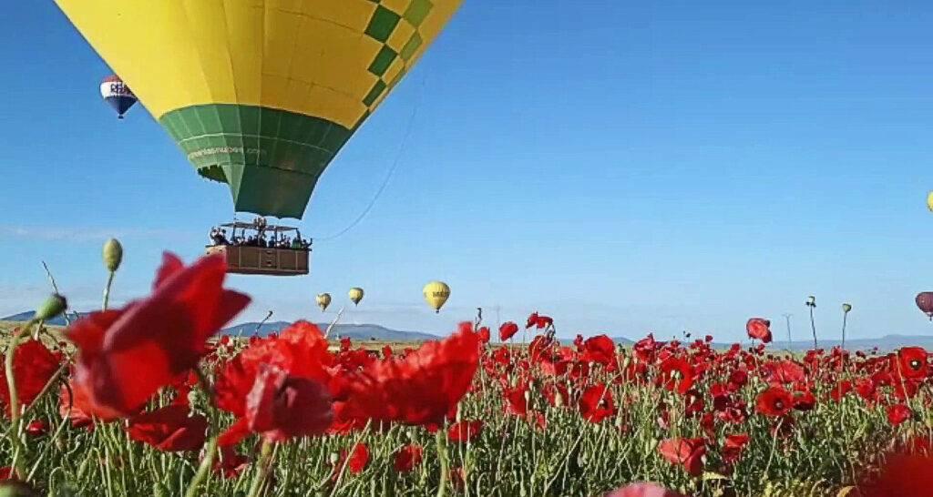 Excursión en globo Segovia 6-6-21 / Segovia es uno de los 10 destinos elegidos por los viajeros de todo el mundo para viajar en globo. La Ciudad Patrimonio de la Humanidad desde el aire, la Sierra de Guadarrama de telón