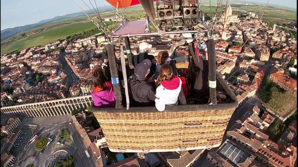 Excursión en globo en Segovia 21-5-21
