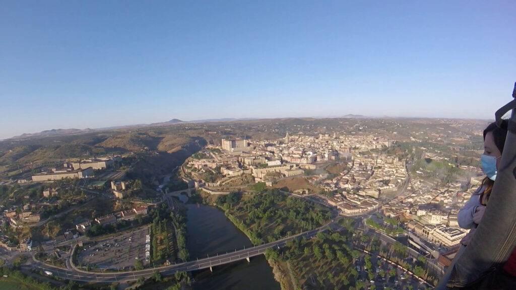 Viajar en globo Toledo 21-6-6