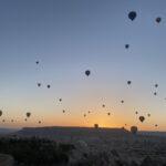 Viajar en globo: Capadocia